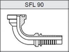 Фланец SAE 6000 SFL 90