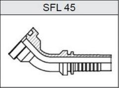 Фланец SAE 6000 SFL 45