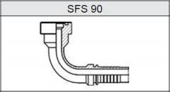 Фланец SUPER CAT SFS 90
