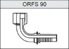 Фитинг Резьба UNF, плоское уплотнение ORFS 90