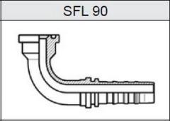 Фланец TI-N NON SKIVE SAE 3000 SFL 90