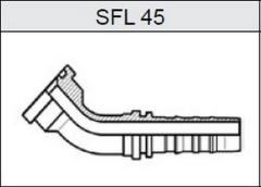 Фланец TI-N NON SKIVE SAE 3000 SFL 45
