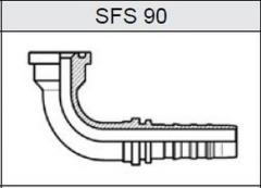 Фланец TI-N NON SKIVE SAE 6000 SFS 90