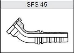 Фланец TI-N NON SKIVE SAE 6000 SFS 45