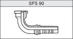 Фланец TI-N NON SKIVE SUPER CAT SFS 90