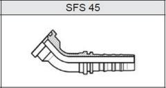 Фланец TI-N NON SKIVE SUPER CAT SFS 45