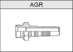 Фитинг TI-IL INTERLOCK резьба BSP, конус 60°, o-ринг AGR