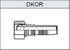 Фитинг TI-IL INTERLOCK резьба BSP, конус 60°, o-ринг DKOR