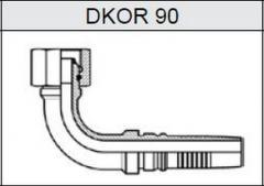 Фитинг TI-IL INTERLOCK резьба BSP, конус 60°, o-ринг DKOR 90