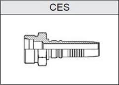 Фитинг TI-IL INTERLOCK резьба метрическая, конус 24°, o-ринг, серия тяжелая (S) CES