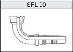 Фланец TI-IL INTERLOCK SAE 3000 SFL 90