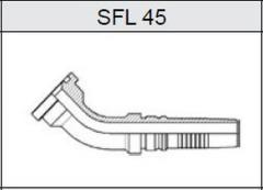Фланец TI-IL INTERLOCK SAE 3000 SFL 45
