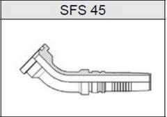 Фланец TI-IL INTERLOCK SAE 6000 SFS 45