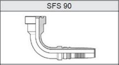 Фланец TI-IL INTERLOCK SUPER CAT SFS 90