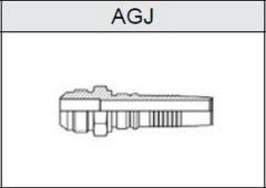 Фитинг TI-IL INTERLOCK JIC резьба UNF, конус 74° AGJ