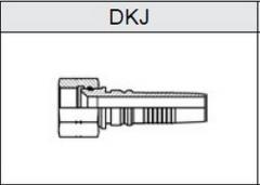 Фитинг TI-IL INTERLOCK JIC резьба UNF, конус 74° DKJ