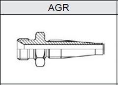 Фитинг TI-S скручиваемые резьба BSP, конус 60° AGR