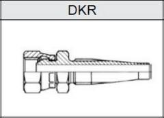 Фитинг TI-S скручиваемые резьба BSP, конус 60° DKR