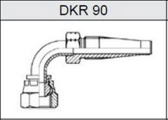 Фитинг TI-S скручиваемые резьба BSP, конус 60° DKR 90