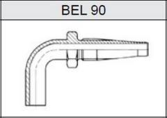 Фитинги TI-S скручиваемые трубчатые метрические, серия легкая (L) BEL 90