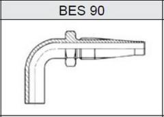 Фитинги TI-S скручиваемые трубчатые метрические, серия тяжелая (S) BES 90