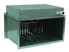 Калорифер канальный КЭВ-18К350х600Е