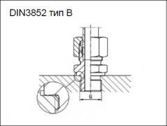 Cоединитель DIN3852 тип B