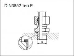 Cоединитель DIN3852 тип E