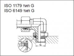 Cоединитель ISO 1179 тип G, ISO 6149 тип G