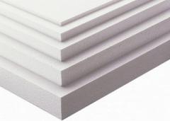 Plate polystyrene foam PSB-S-25B, 20 kg/m3