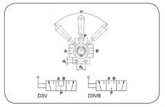 Переключаемый клапан D3V