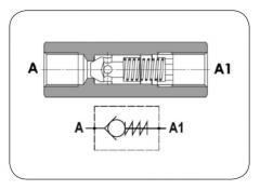 Обратный клапан FPR
