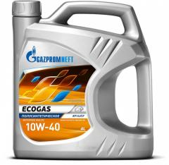 Масло Ecogas 10W-40, 4 л.