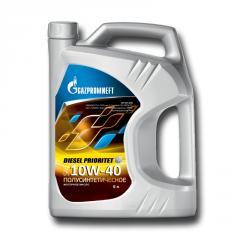 Масло Diesel Prioritet 10W-40,  4 л.