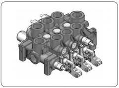Многосекционные распределители SALAMI тип VD12A