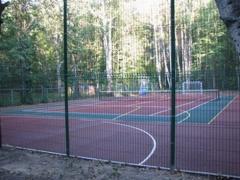Ограждение спортивных площадок из панели, высота