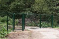 Распашные ворота и калитки Стандарт
