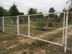 Распашные ворота и калитки облегченные