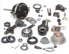 Spare parts to cars, component parts