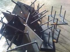 Изделия закладные металлические