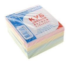 Блок для заметок 8 х 8 х 400 л цветная