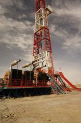 Stationary ZJ30 drilling rig