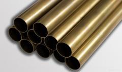 Pipe brass L63 70х10 GKRHH ND of GOST 494-2014