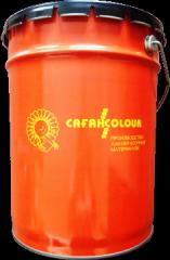 Эмаль ПФ-115 ж/коричневая (ГОСТ 6465-76) 30 кг/250