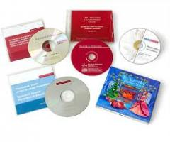 Offset printing of CD,DVD