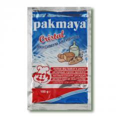 Дрожжи сухие активные PAKMAYA 60гр. 8690770323335