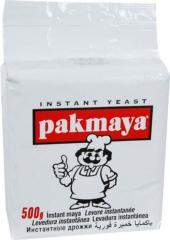 Дрожжи сухие инстантные PAKMAYA 450гр. 8690770320600