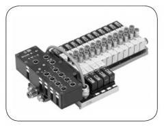 Модуль магистрали IP 65 для клапанов MACH 16