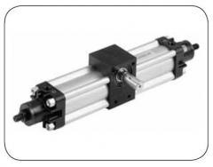 Вращающиеся цилиндры Ø 32 ÷ 100 мм - серия R1