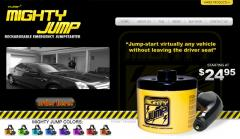 Starter of the Emergency Mighty Jump Starter car